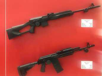 Rifles for the new TKM rounds